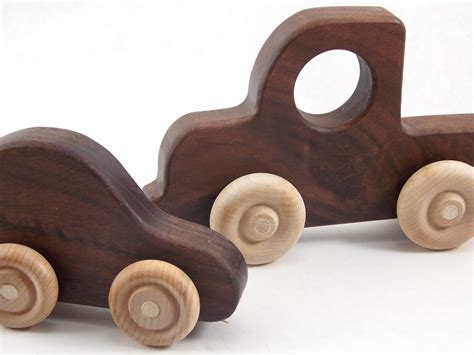 Wooden Toy Vehicle Plans