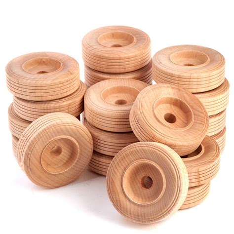 Wooden Toy Wheels For Crafts