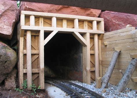 Wooden Train Tunnels Designs For Health