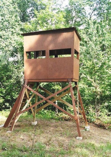 Wooden Tree Stand Plans Free
