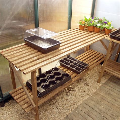 Wooden Trestle Table Diy With Shelf