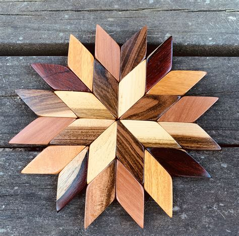 Wooden Trivet Plans Or Patterns In Nature