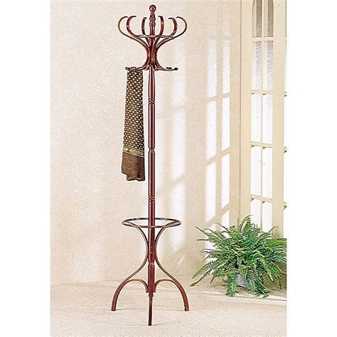 Wooden Umbrella Stand And Coat Rack
