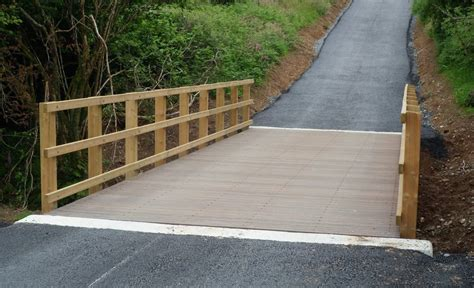 Wooden Vehicle Bridge Plans