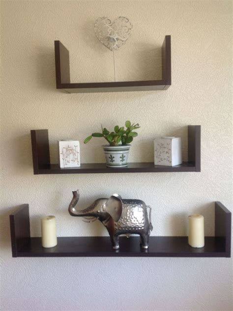 Wooden Wall Mounted Shelf Designs