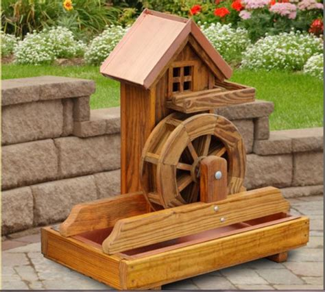 Search Results For Wooden Water Wheel Fountain Plans The