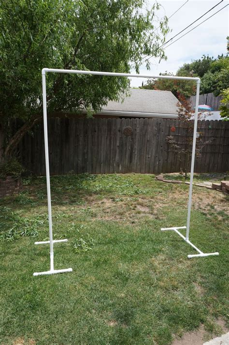 Wooden Wedding Arch DIY Using Pvc Pipe