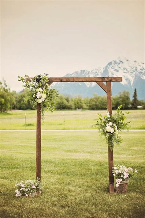 Wooden Wedding Arch Plans For Weddings