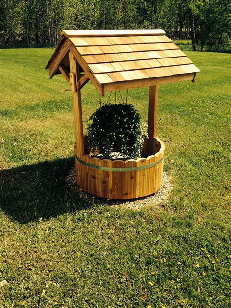 Wooden Well Cover Plan