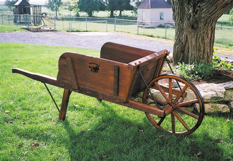 Wooden Wheelbarrow Plans This Old House
