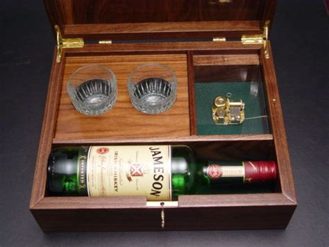 Wooden Whiskey Box Plans