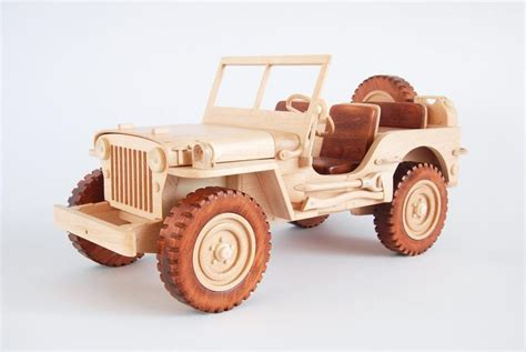 Wooden Willys Jeep Plans