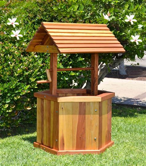 Wooden Wishing Well Kits