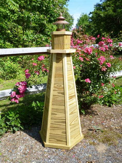 Wooden Yard Lighthouse Plans
