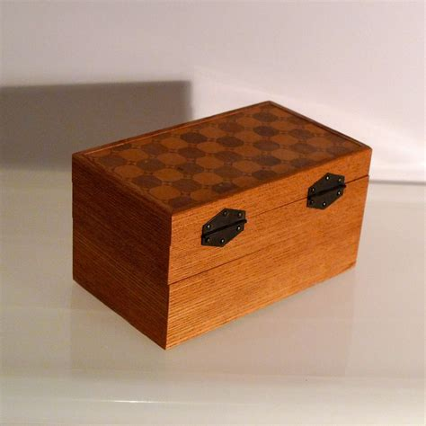 Wooden boxes with secret compartments Image