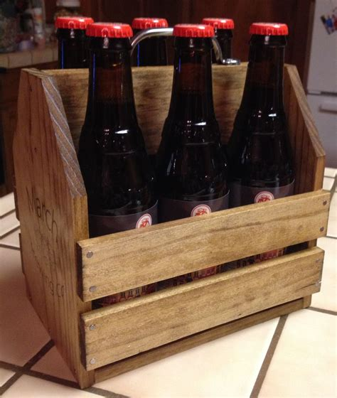 Wooden-6-Pack-Beer-Tote-Plans