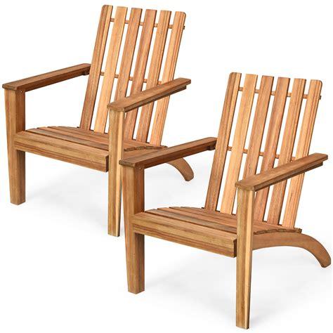 Wooden-Adirondack-Lounge-Chairs