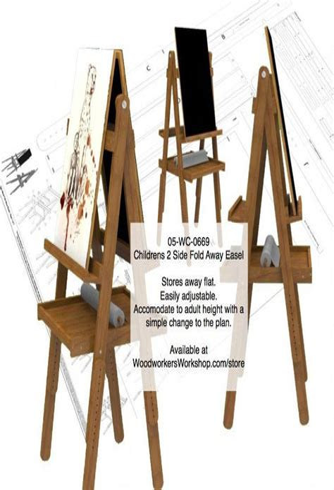 Wooden-Art-Easel-Plans