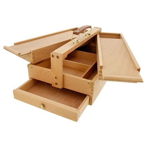 Wooden-Art-Supply-Storage-Box-Plans