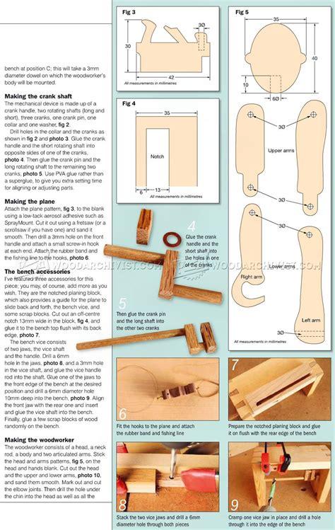 Wooden-Automata-Plans