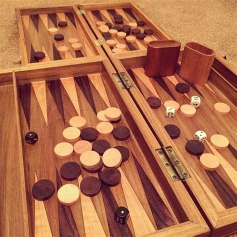 Wooden-Backgammon-Diy