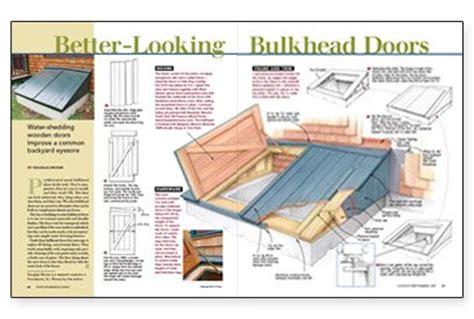 Wooden-Basement-Door-Plans