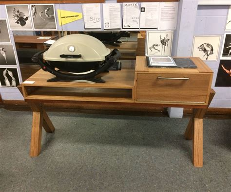 Wooden-Bbq-Stand-Plans