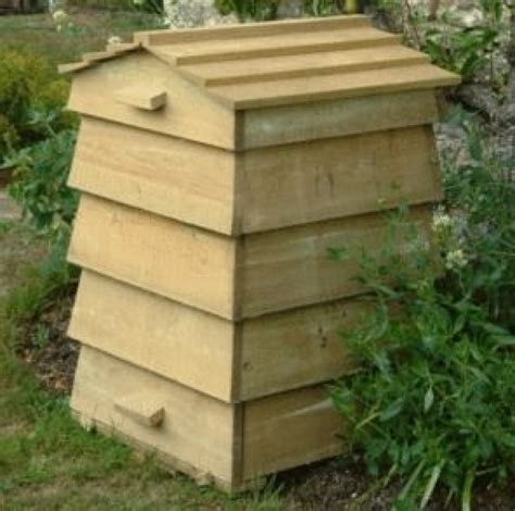 Wooden-Beehive-Composter-Plans