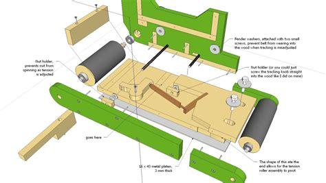 Wooden-Belt-Grinder-Plans