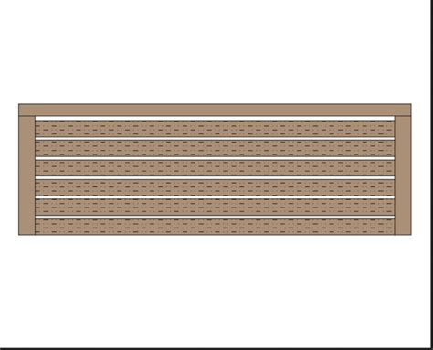 Wooden-Bench-Plan-View