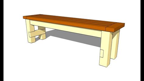 Wooden-Bench-Seat-Plans