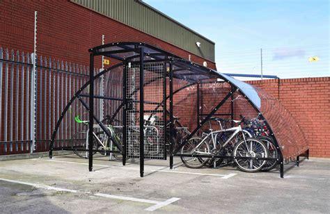 Wooden-Bike-Enclosure-Diy-Top-Open
