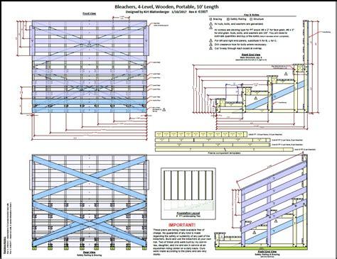 Wooden-Bleacher-Plans