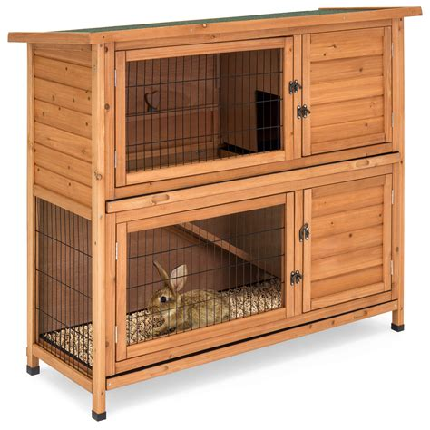 Wooden-Bunny-Cage