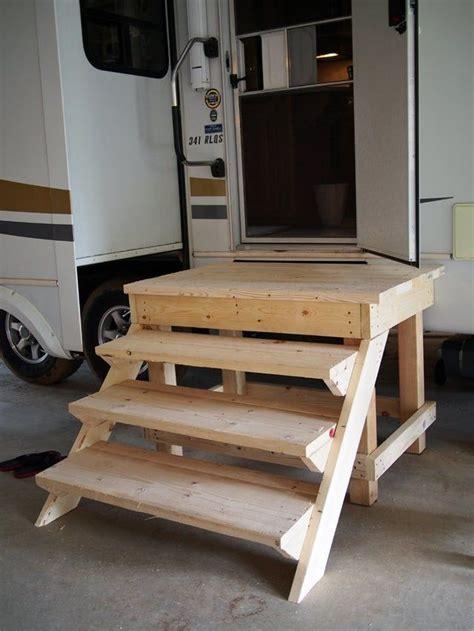 Wooden-Camper-Step-Plans