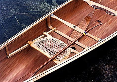 Wooden-Canoe-Seat-Plans
