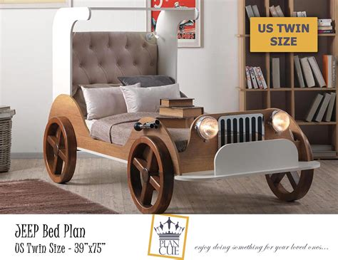 Wooden-Car-Bed-Plans