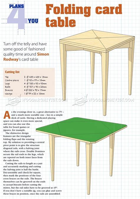 Wooden-Card-Table-Plans