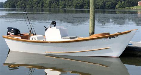 Wooden-Carolina-Skiff-Boat-Plans
