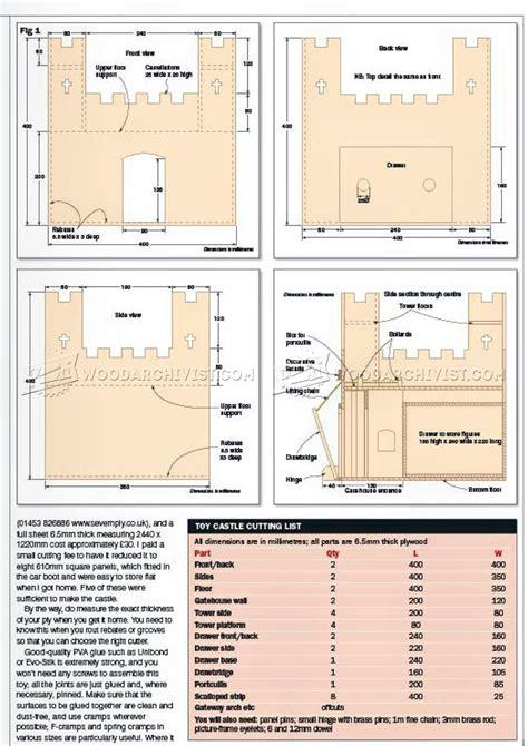 Wooden-Castle-Plans-Free