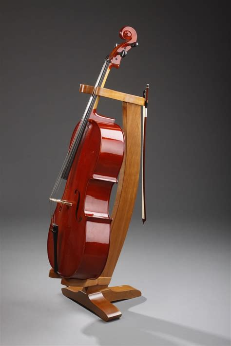 Wooden-Cello-Stand-Plans