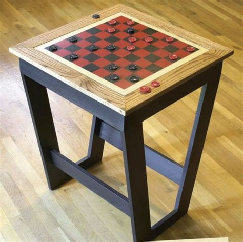 Wooden-Checkerboard-Table-Plans