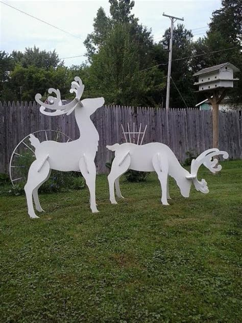 Wooden-Christmas-Yard-Decoration-Plans
