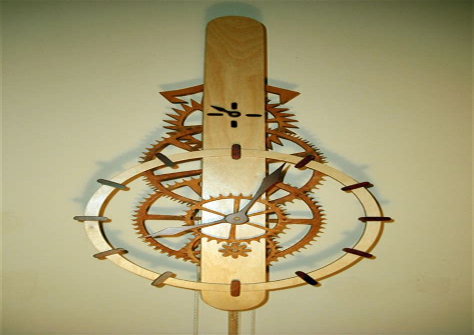 Wooden-Clock-Mechanism-Plans