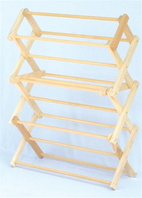 Wooden-Clothes-Dryer-Rack-Plans