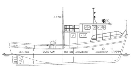 Wooden-Commercial-Fishing-Boat-Plans