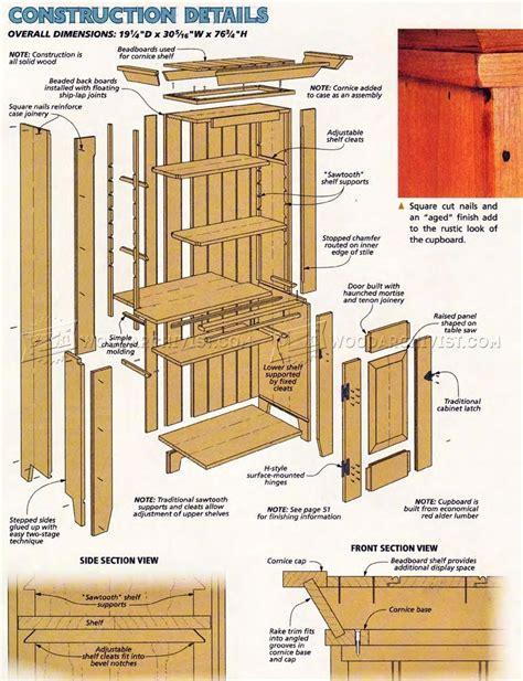 Wooden-Cubboard-Plans