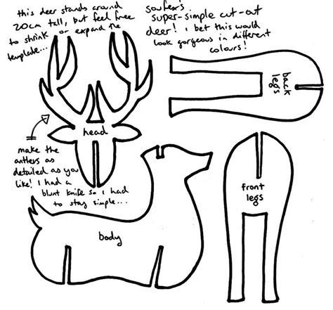 Wooden-Deer-Plans