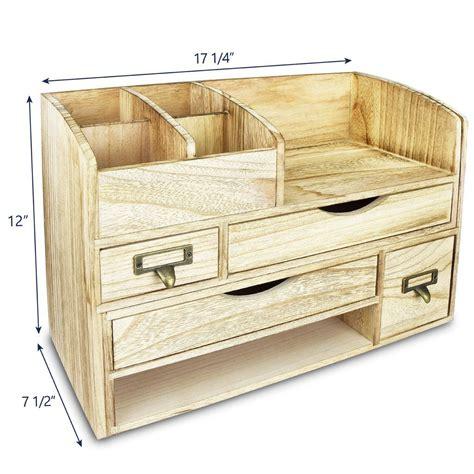 Wooden-Desk-Organizer-Plans