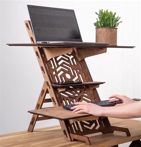 Wooden-Desk-Stand